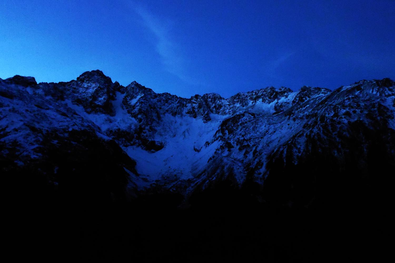 Blick auf Mt. Hopeless in der Abenddämmerung - © Pia Röder