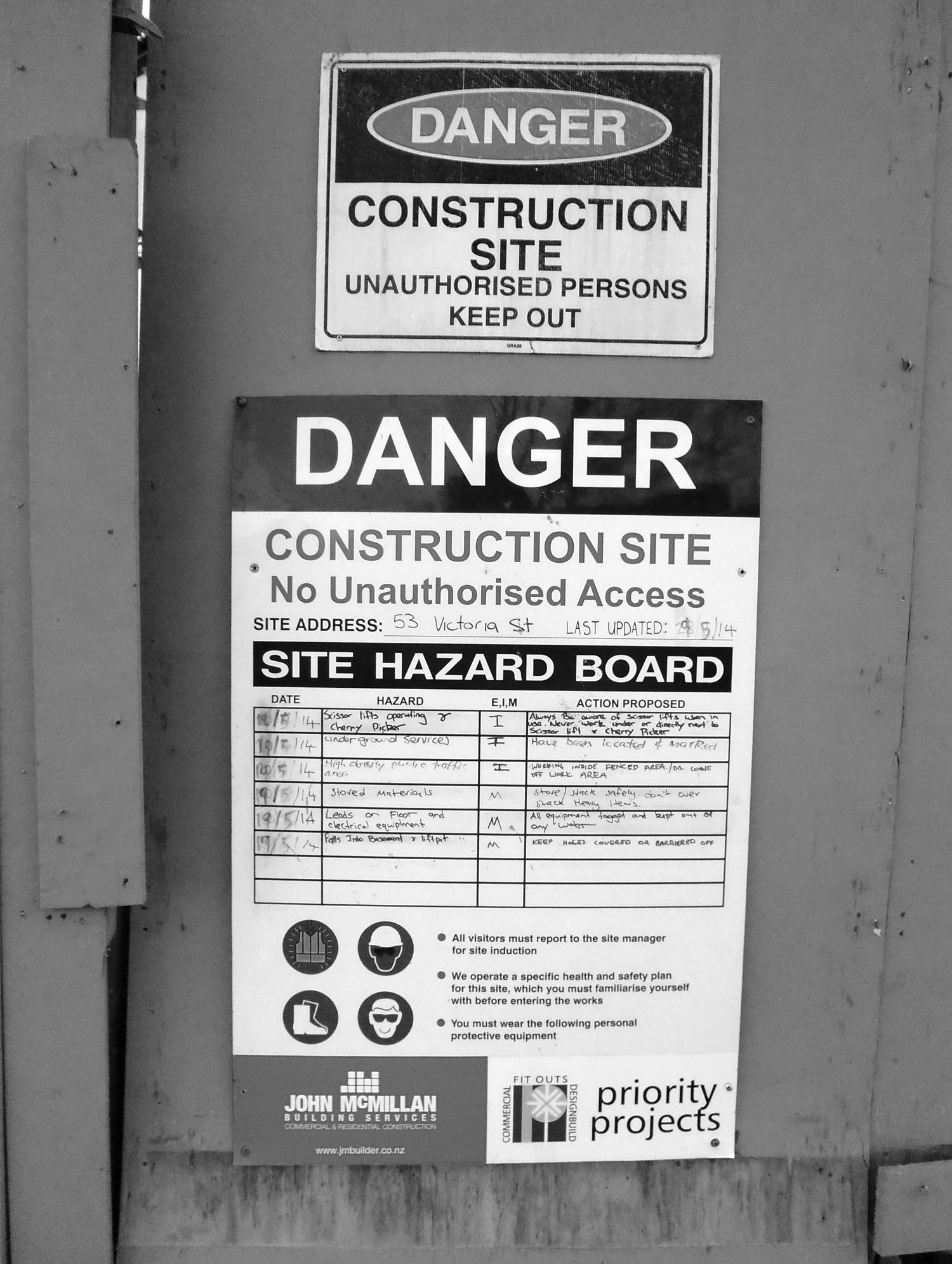 Hazards!!!